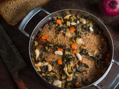 Zuppa di Fagioli e la Ribollita, Delicious Fall Tuscan Soups