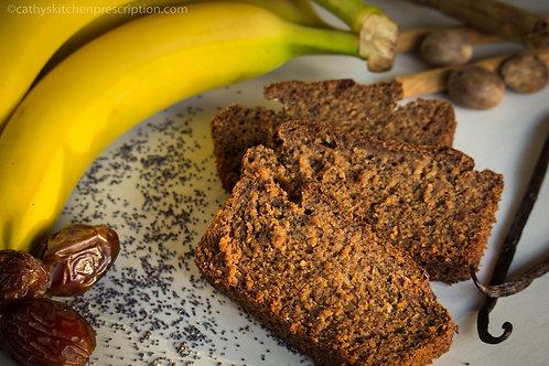 Banana-Date-Poppy-Seed Bread