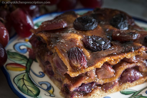 Rustic Grape Torte