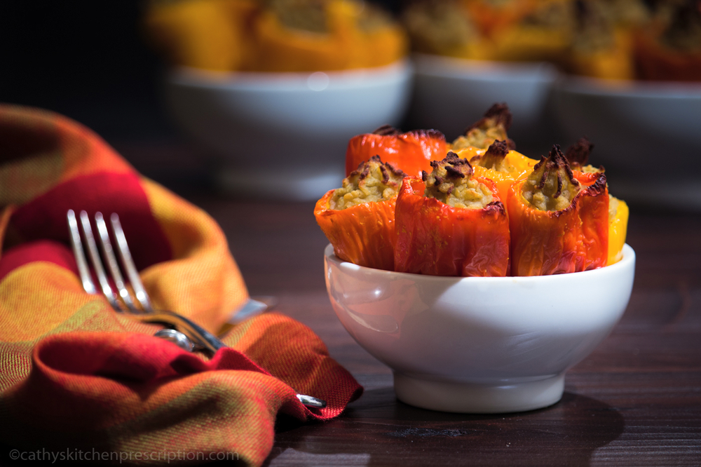 Potato-Stuffed Mini Peppers