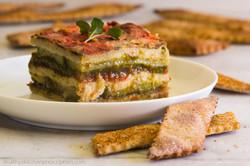Eggplant Zucchini Torte