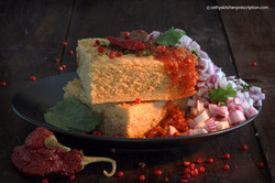 plant-based vegan Indian dhokla