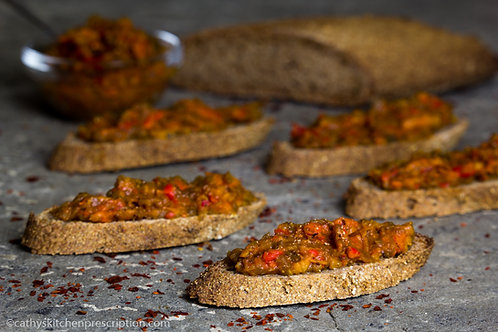 Ajvar, Balkan Grilled Pepper Spread