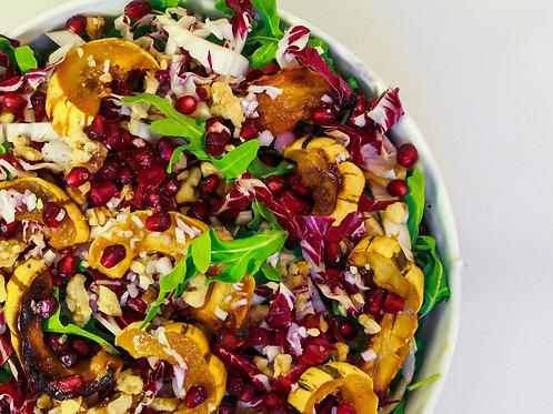 Delicata, Pomegranate Salad