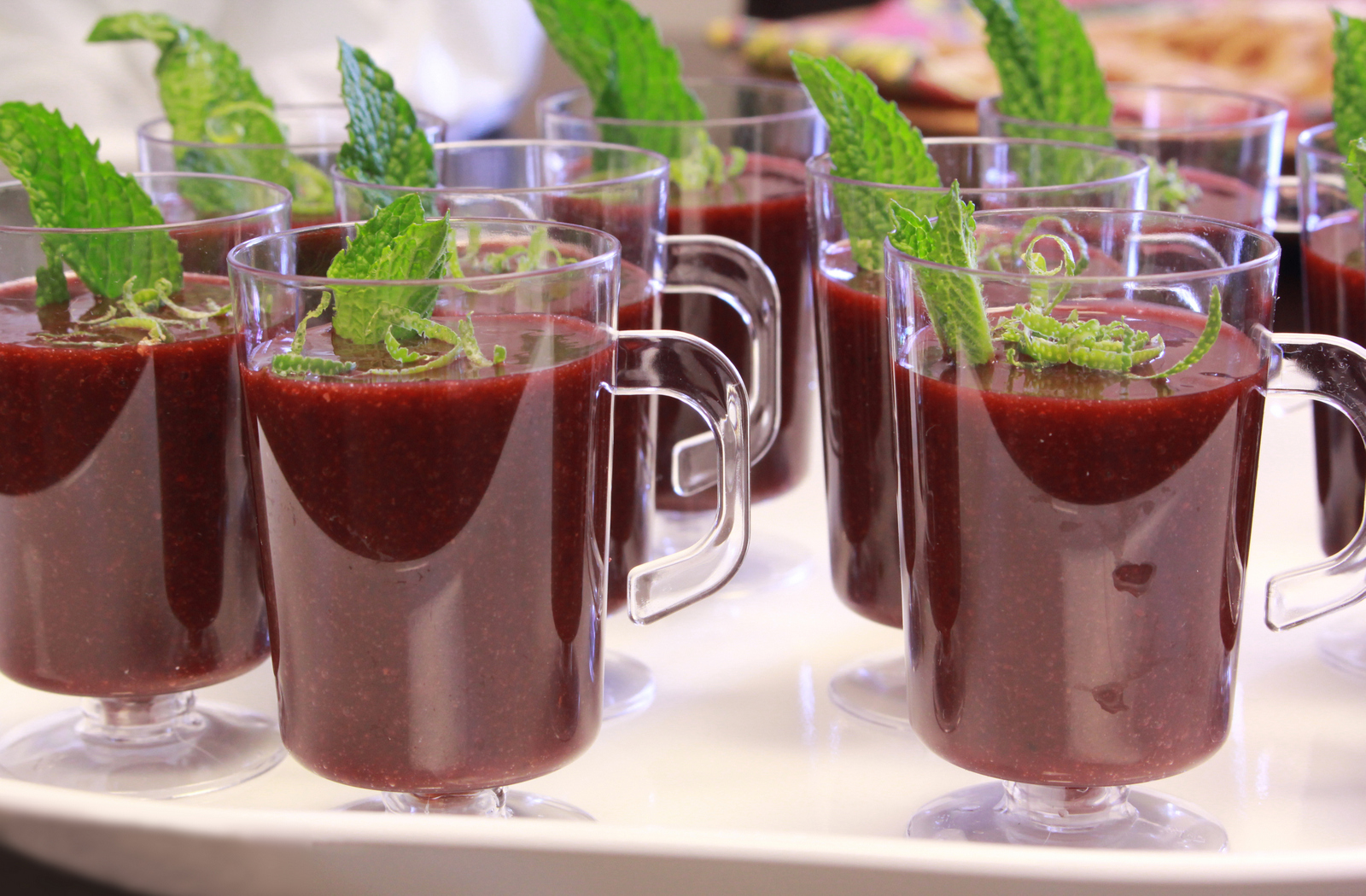 Black cherry shooters