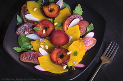 Autumn Leaves Salad
