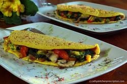 Plant-Based Eggless Omelette