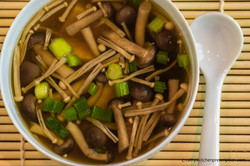 Shimeji Miso Soup
