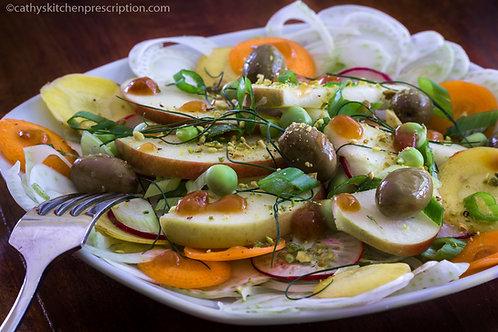 Apple Fennel Summer Salad