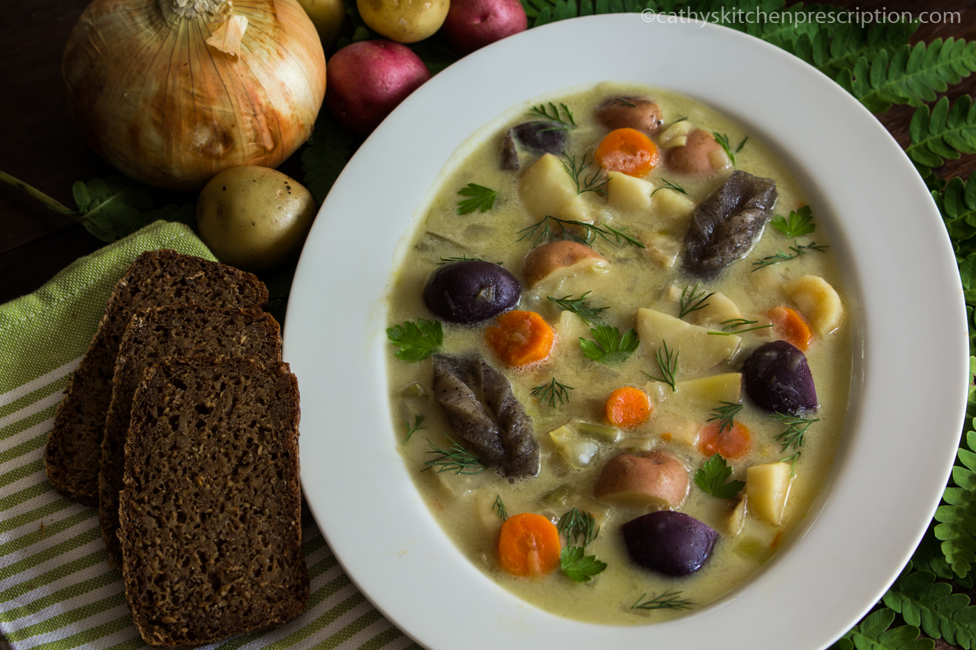 Norwegian Fishless Fiskesuppe