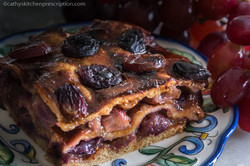 Rustic Grape Torte