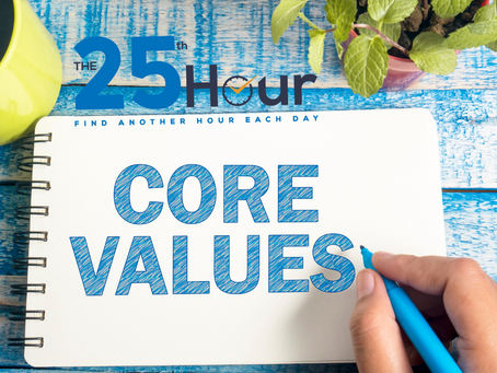 My Values: Putting Your Business First