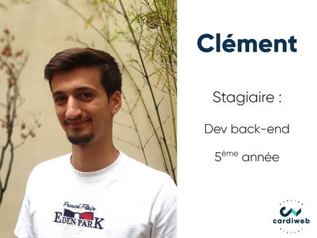 Vis ma vie de stagiaire - Clément, dev back-end