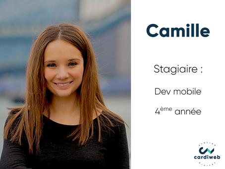 Vis ma vie de stagiaire - Camille, dev mobile