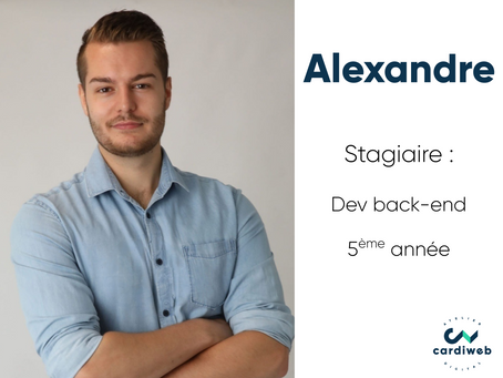 Vis ma vie de stagiaire - Alexandre, dev back-end