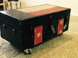 Custom Texas Flag Chest