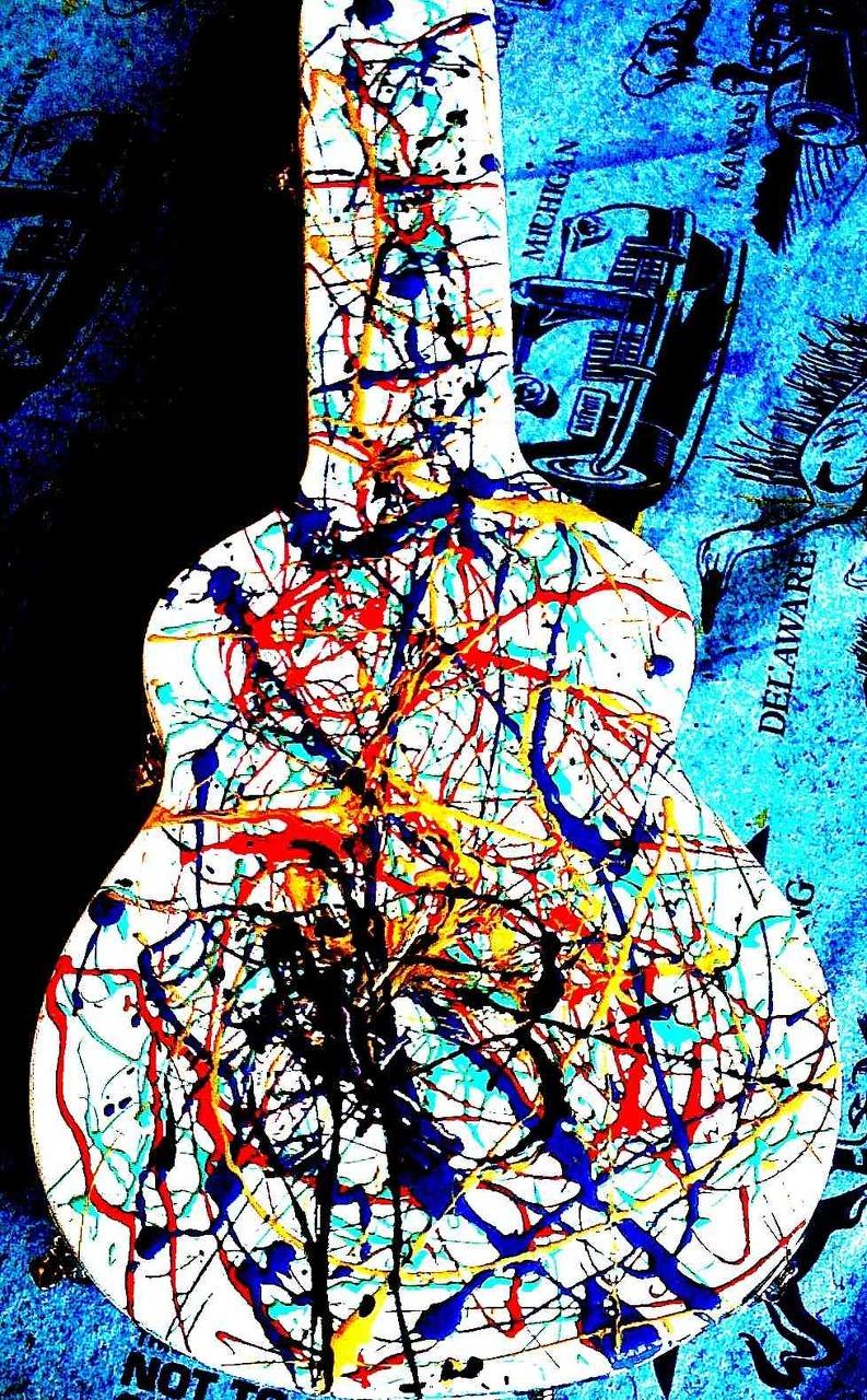 Custom Guitar case for Brad Arnold