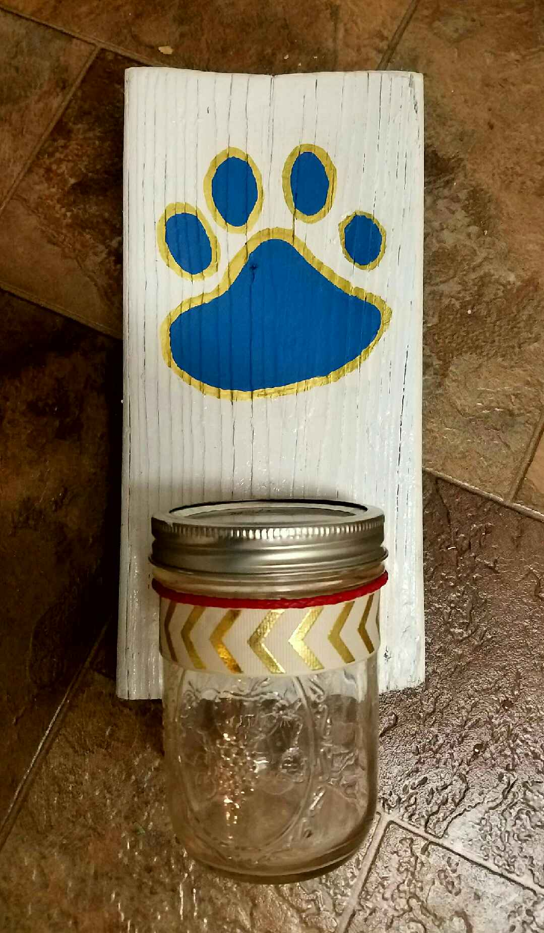 Pet Treat Shelf Jar