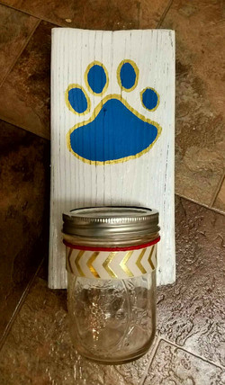 Pet Treat Shelf Jar