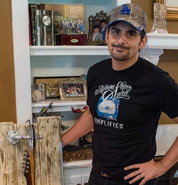 Brad Paisley Commissioned Art