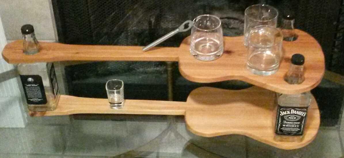 Custom Gentleman's Mini Bar