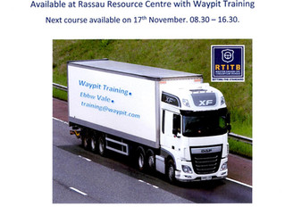 Driver CPC training South Wales.