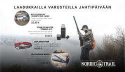 Nordic Trailin mainos nettilehteen