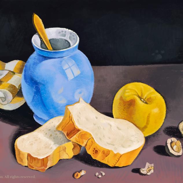 パンとクルミ
