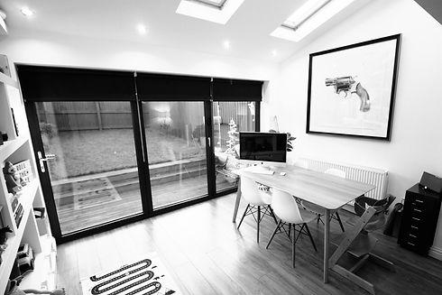 Bifolding Doors in New Home Extension Windows, Glazing, BiFold
