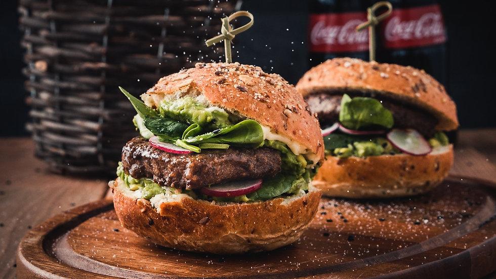 Tasty, Freshly Made Burgers. Twentyone Wells, Somerset