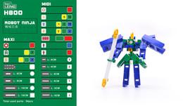 Lepao H800 ROBOT NINJA 機械忍者