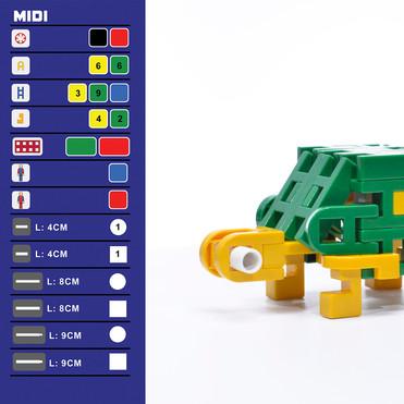Lepao H800-X MINI TORTOISE 烏龜