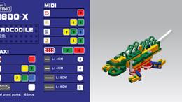 Lepao H800-X CROCODILE 鱷魚