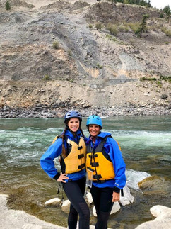 Ness & Donna White Water Rafting