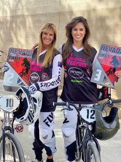 Mom & I BMX Racing