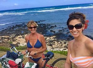 Mom Ness Kauai Bike Ride.JPG