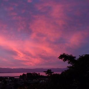 Sunsets at Plum Cottage