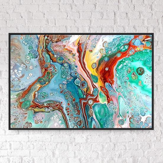 River Wild 76 x 51 cm