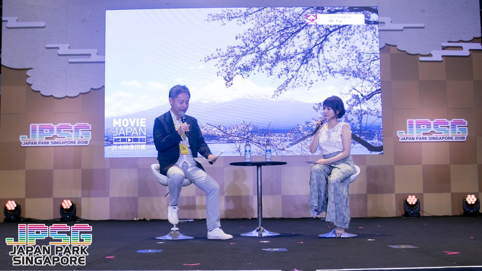 JPSG Japan Park Singapore 2018のトークショー