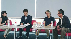 小学館発刊「LKY」(故リー・クアン・ユー元首相の自伝漫画)の出版イベント
