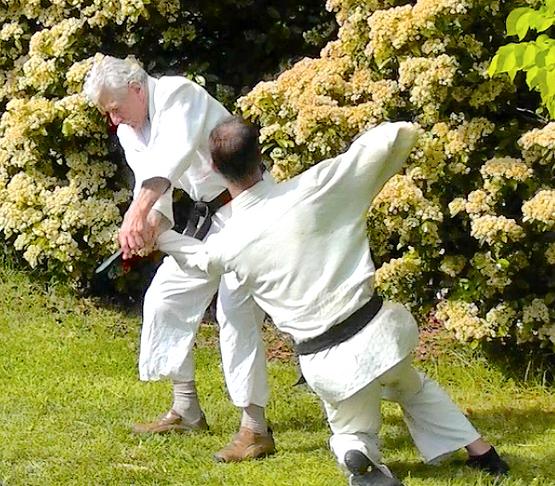 19. Kote-gaeshi (wrist bending) is basic