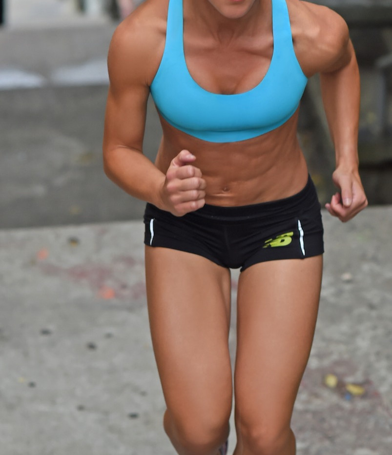 Courtney Sanello Fitness Active Running