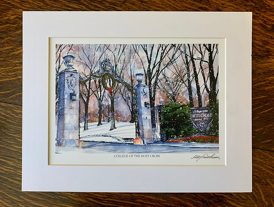 Holy Cross Gates Limited Edition Print by Mark Waitkus
