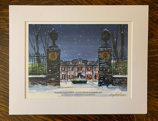 Notre Dame Academy Limited Edition print by Mark Waitkus