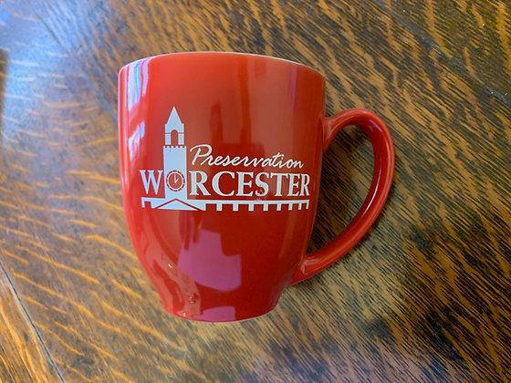 Preservation Worcester Save the Best to Last Mug
