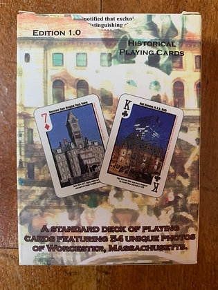 Worcester's Best: Historic Architecture of Worcester Playing Cards
