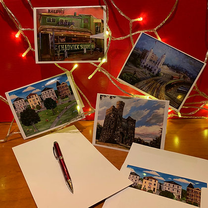 Worcester Architectural Heritage Exhibition Notecards