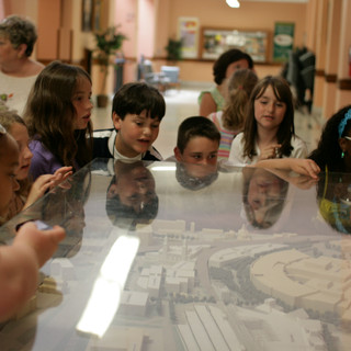 9-City Hall-model & students-AAC-6-10-20