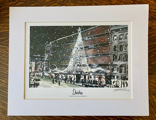 Denholm's Limited Edition Print by Mark Waitkus