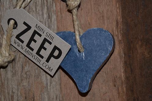 Hanger Hart DonkerblauwJeans